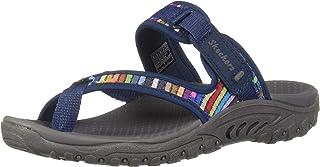 Skechers REGGAE - MAD SWAG - Toe Thong Woven Sandal womens Sandal