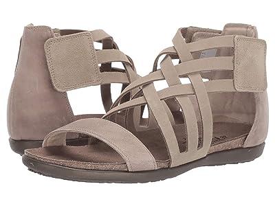 Naot Marita (Sand Suede/Khaki Beige Leather) Women