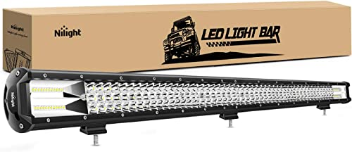 high quality Nilight - 18007C-A 37Inch Triple Row Led Light Bar 468W Flood Spot Combo 46800LM Driving Lights Boat Led outlet sale high quality Off-Road Lights for Trucks outlet sale