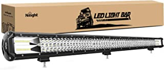 Barra de luz LED Nilight, 1PC 37Inch Triple Row Lights, 1PC 37Inch Triple Row Lights