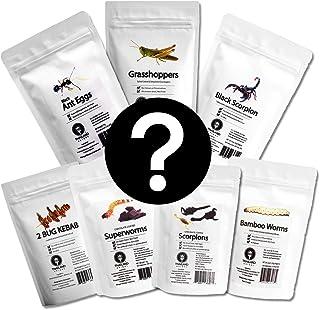 【食用】ランダムパック1袋〇何が届くかわからないミステリーランダムパック〇【昆虫食】