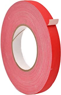 WOD CGT-665C Premium Grade Multipurpose Red Gaffer Tape, Residue Free, Non Reflective, Easy to Tear - Better than Duct Tap...