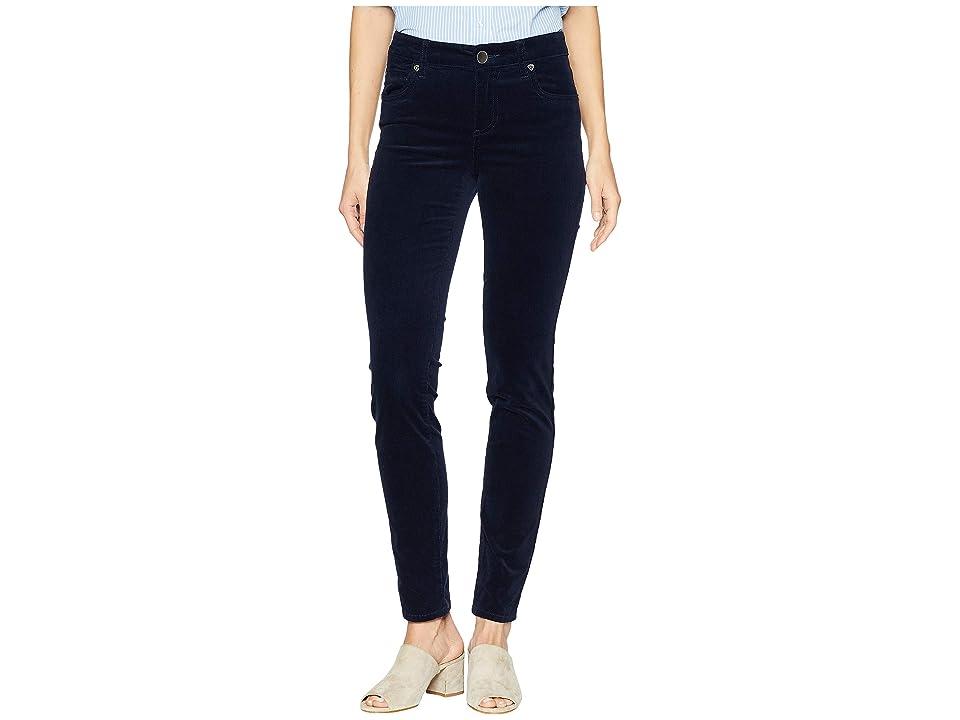 KUT from the Kloth Diana Cord Skinny Jean (Navy) Women