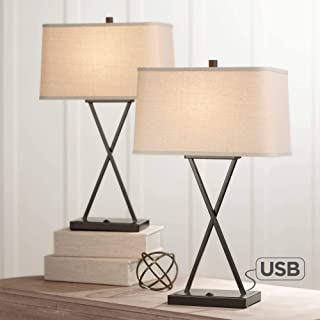 Amazon Com Table Lamps 16 To 17 Inch Table Lamps Lamps Shades Tools Home Improvement