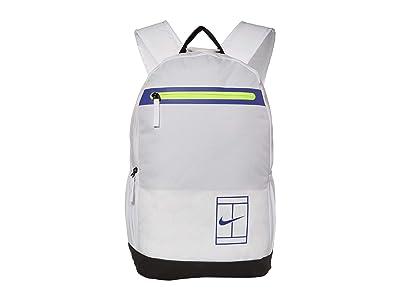 Nike Court Tennis Backpack (White/Black/Rush Violet) Backpack Bags