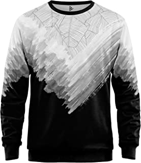 Blowh Chamber–Men's Sweatshirt–White Leaves SWT