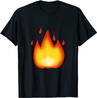 fire emoji t shirt