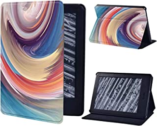 Leather Tablet Stand Folio Case for Amazon Kindle Paperwhite 1 5Th/2 6Th/3 7Th/4 10Th/Kindle 8Th/10Th Wear Resistant Table...