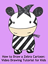 How to Draw a Zebra Cartoon: Video Drawing Tutorial for Kids