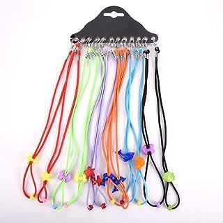 QXH 12 Uds. Gafas Ajustables de Nailon para niños Correa elástica cinturón cordón para Gafas Gafas para niños Correa para ...