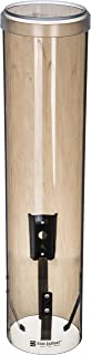 San Jamar C3260TBR Large Pull Type Water Cup Dispenser, Fits 4-1/2 to 7 oz Cone Cups and 6 to 12 oz Flat Bottom Cups, 16