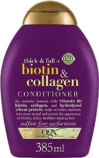 OGX, Conditioner, Thick & Full+ Biotin & Collagen, 385ml