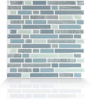 Smart Tiles Peel and Stick Backsplash and Wall Tile Bellagio Alario Pack of 4