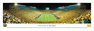 Michigan Football - Under The Lights - End Zone - Blakeway Panoramas College Sports Posters
