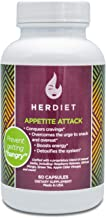 Her Diet Appetite Attack - Weight Loss Pills for Women - Ultra Strength Appetite Suppressant - Thermogenic Weight Loss Supplement - Prevent Overeating - Curb Cravings