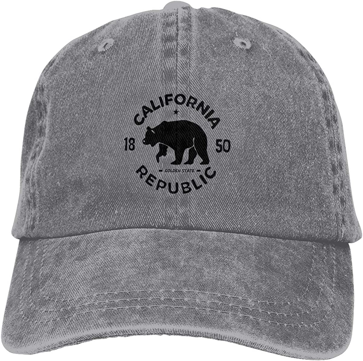 Limited price Unisex Bigfoot Classic Baseball Cap Dad Denim Reservation Hat Cotton 100% So
