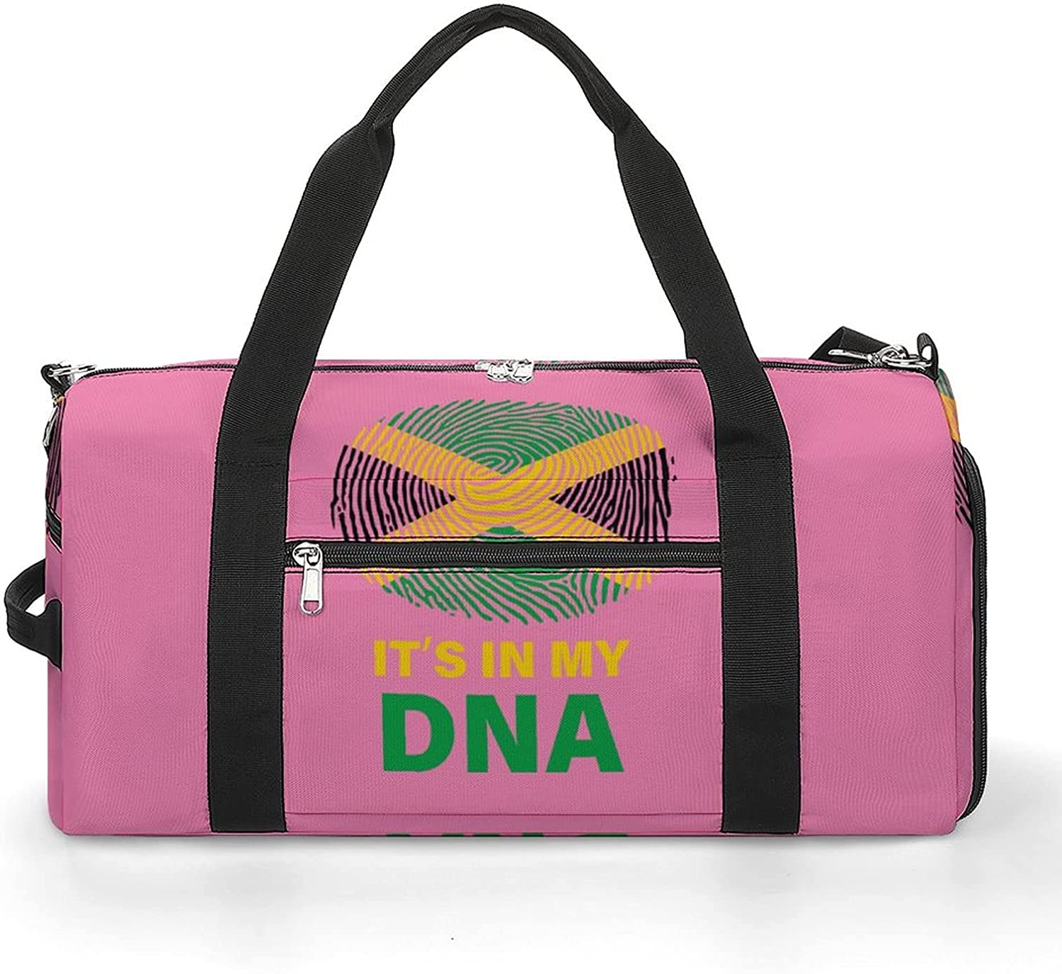 High quality Jamaican It's in My Award-winning store DNA Sports Shoes Bag With Gym Compartment Li