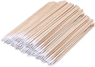 Sponsored Ad - 200 Count 4 Inch Pointed Cotton Swabs Precision Microblading Cotton Tipped Applicator Tattoo Permanent Supp...