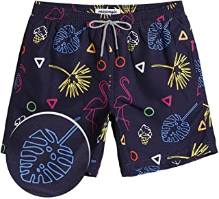 Mens Boys Short Swim Trunks Mens Bathing Suits Slim Fit Swim Shorts Quick Dry Swimsuit for Men
