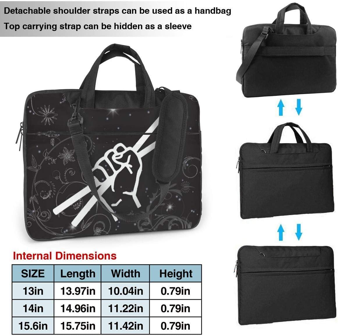 Drumsticks Drummer Laptop Bag One Shoulder Shockproof Laptop Bag