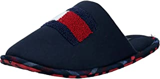 Tommy Hilfiger Flag Badge Homeslipper, Men Slippers, Blue (Midnight)
