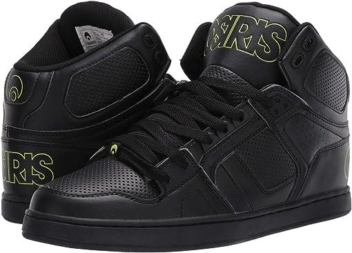 Black/Lime/Black