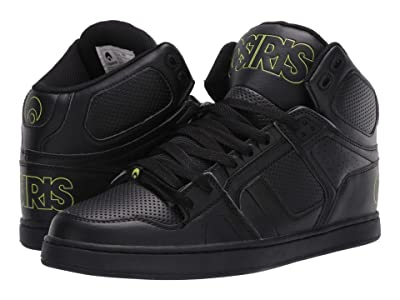 Osiris NYC 83 CLK (Black/Lime/Black) Men