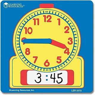 書いて消せる 学習時計 生徒用 10枚セット 11cm