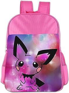 Pichu Pokemon Children's Bags Kid School Bag Boy Girl Backpack