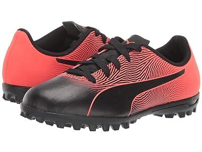 Puma Kids Spirit II TT Soccer (Toddler/Little Kid/Big Kid) (Puma Black/Red Blast) Kids Shoes