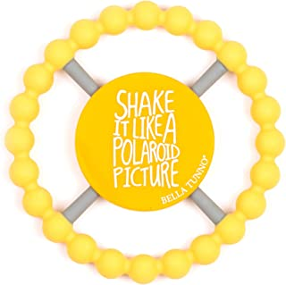 Bella Tunno Teether, Shake It Like a Polaroid, Yellow
