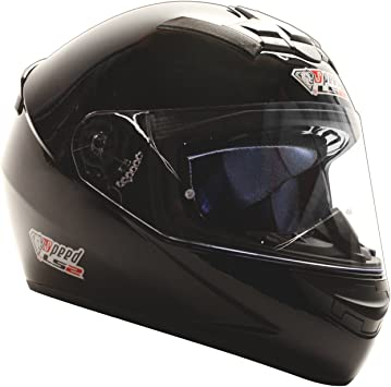 Ls2 Rookie Integralhelm Schwarz Gloss Sonderedition Speed Racewear Kart Motorradhelm Xs 53 54cm Auto