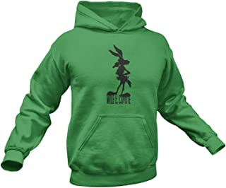 Wile E Coyote Hoodie. Wile. E. Coyote Inspired Hoodie. Adult Unisex in Multiple Colors up to 4XL