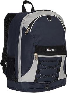 حقيبة ظهر ايفرست لاجدج بلونين مع جيوب شبكية