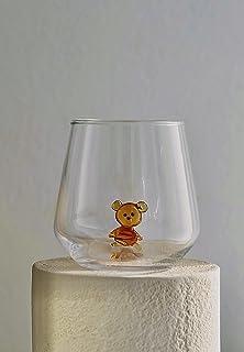 MINIZOO PARIS Verre à eau   345cc   Figurine de Teddy en Verre de Murano   la décoration intérieur