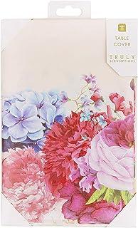 Talking Tables Nappe en Papier Floral Truly Scrumptious - Idéal pour Mariage, fête prénatale, thé de l'après-midi, fête d'...