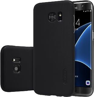 Nillkin Samsung Galaxy S7 Edge Super Frosted Shield Back Case Hard with Ozone Screen Guard -Black