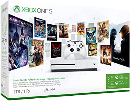 Xbox One S 1TB Console - Starter Bundle