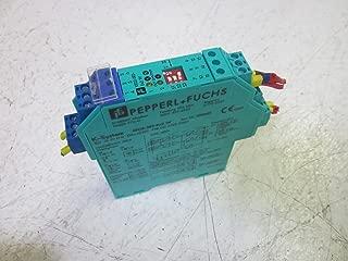 PEPPERL + FUCHS KFD2-SR2-EX2.W SWITCH AMPLIFIER 24VDC PN:1033685USED