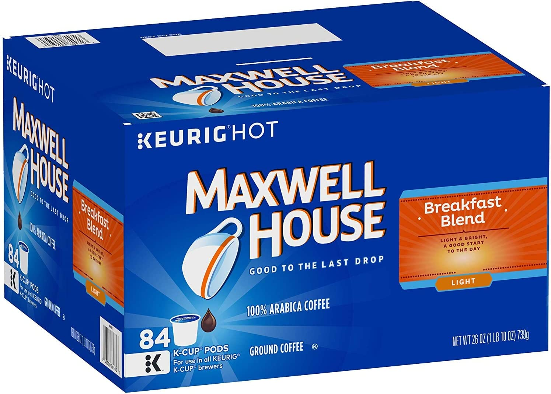 Maxwell House Breakfast Blend online shop Coffee K-Cup Single Overseas parallel import regular item Serve Keurig