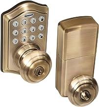 Honeywell Safes & Door Locks 8732101 Fechadura de porta, 16,5 x 22,4 x 22,8 cm, latão antigo