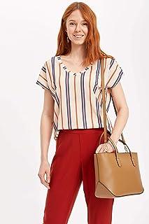 869188b6d92bc Amazon.com.tr: Bej - El Çantası / Kadın: Moda