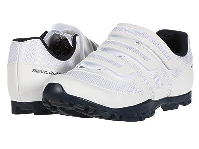 Pearl Izumi All-Road v5 Cycling Shoe (White/Navy) Women