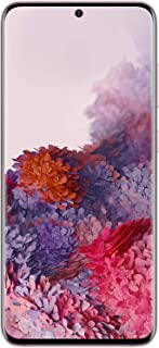 Samsung Galaxy S20 Dual SIM 128 GB 8GB RAM 4G LTE (UAE Version) - Cloud Pink - 1 year local brand warranty, SM-G980FZIDXSG