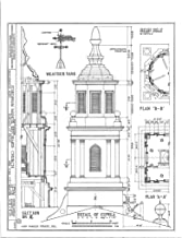 Historic Pictoric Structural Drawing HABS NY,3-Bronx,1- (Sheet 5 of 6) - Fordham Manor Reformed Church, 71 Kingsbridge Road & Reservoir Avenue, Bronx, Bronx County, NY 44in x 55in