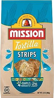 Mission Strips Tortilla Chips | Gluten Free | Restaurant Style Corn Tortilla Chips | 13 oz