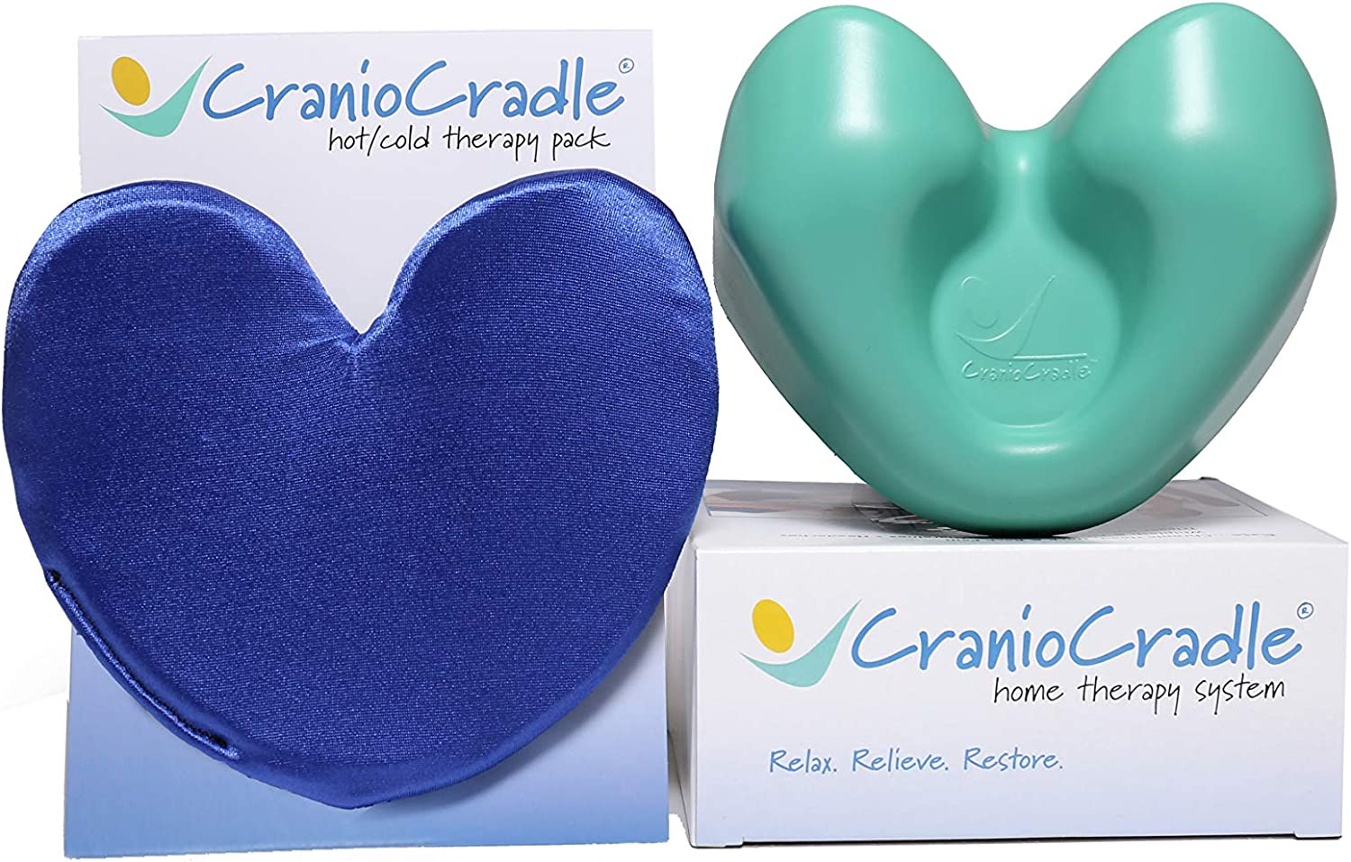 Baltimore Mall CranioCradle Ranking TOP15 Home Therapy System Hot - Qualit Pack Cold