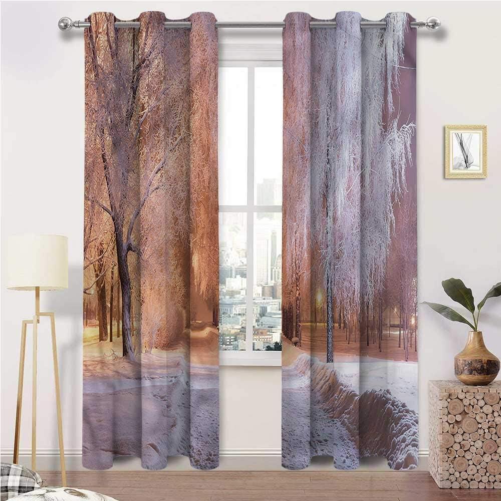 Kids Blackout Curtains Outlet SALE Winter Grommet Bedroom Super sale period limited Drapes Living for