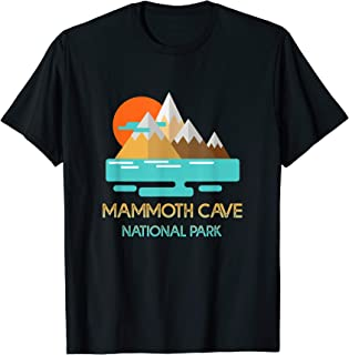 Mammoth Cave National Park TShirt Geometric Mountain