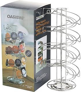 Support de support de capsules de café, SUNASQ Support de capsules de café dune capacité de 50 capsules, organisateur de s...